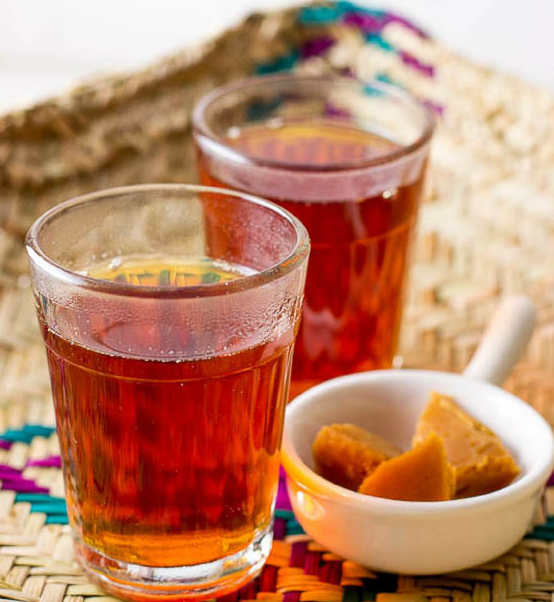 Jaggery Black Tea with Ginger